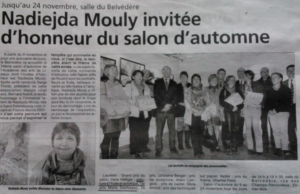 Article Salon Automne
