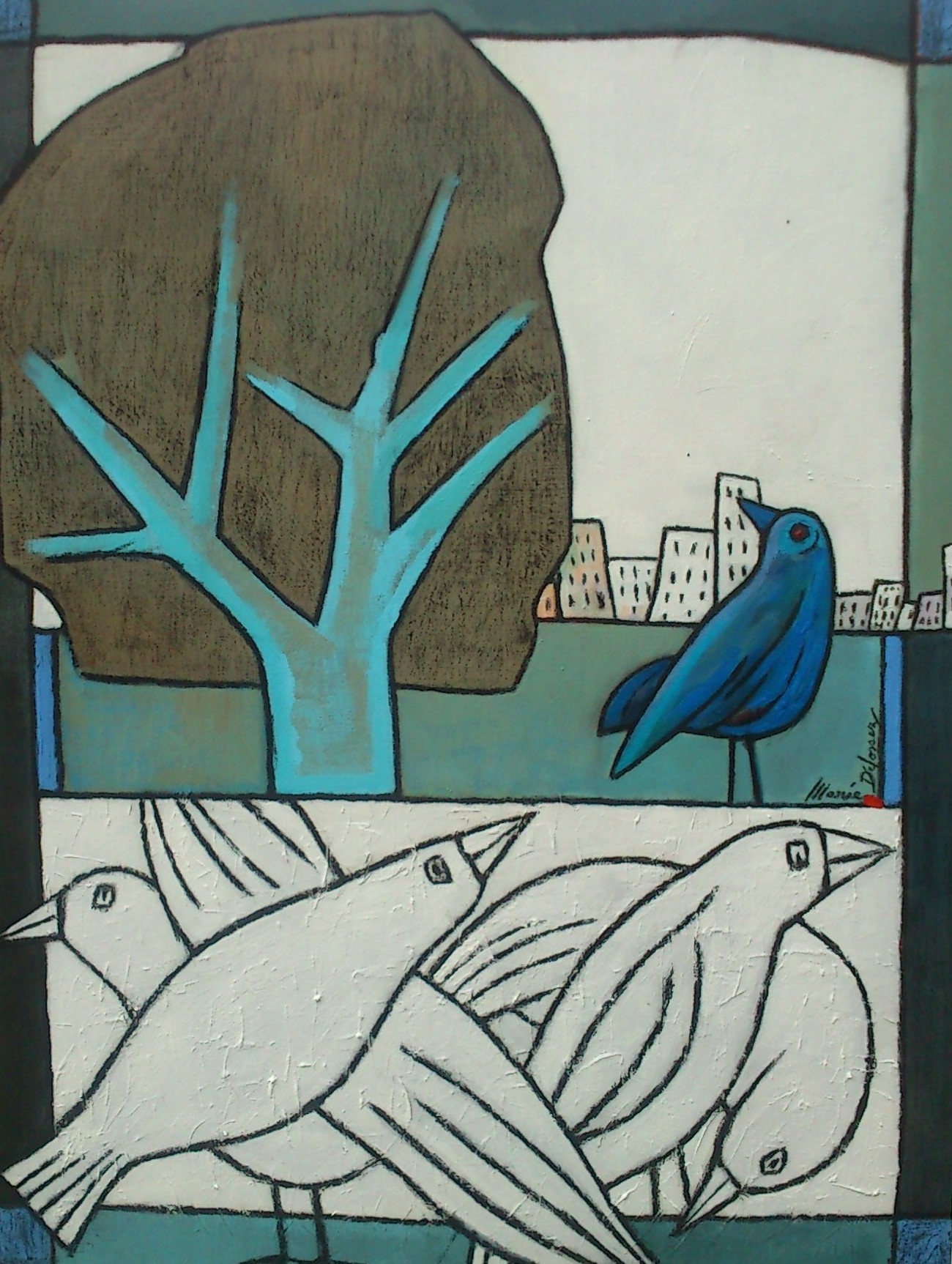 L'arbre et les oiseaux