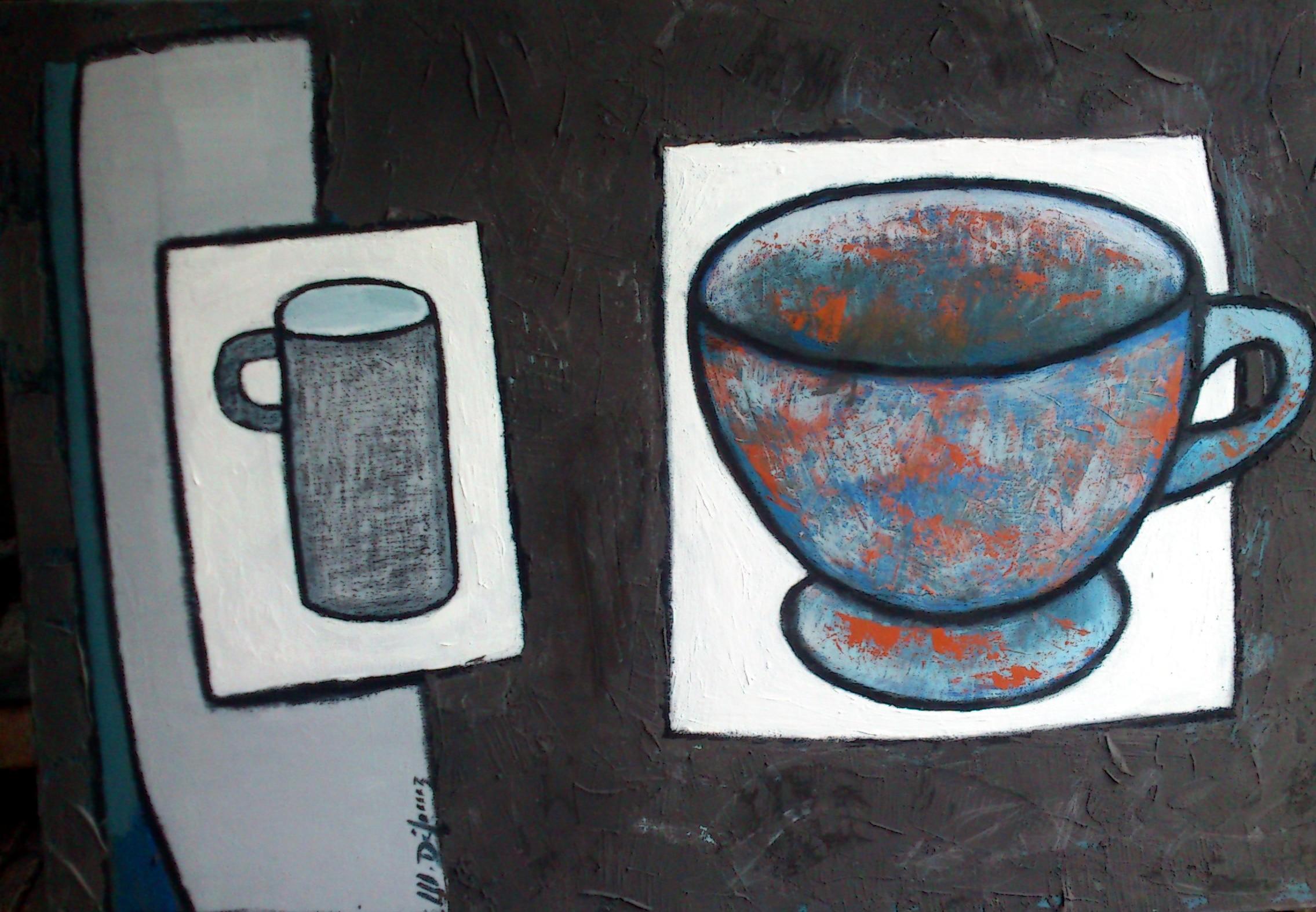 Le bol et la tasse